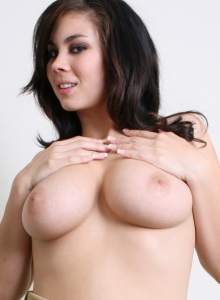 Busty Babe Mai Ly Strips Out Of Her Slutty Girl Scout Uniform - Picture 6